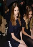 Anna Kendrick - Jill Stuart Fashion Show in New York - Febraury 2014