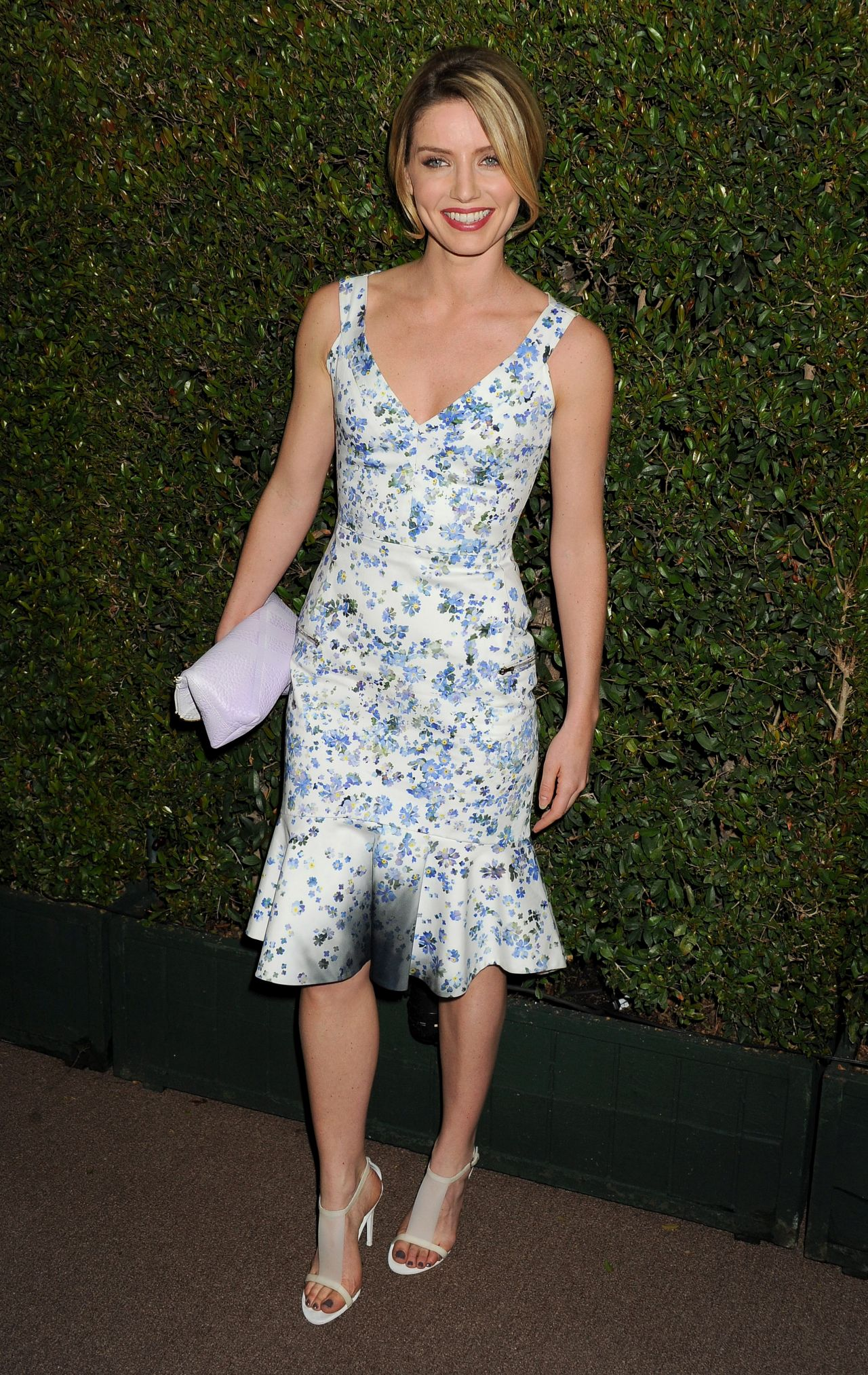 Annabelle Wallis - Vanity Fair & FIAT Young Hollywood Event in LA, February 2014