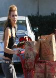 AnnaLynne McCord - Shopping at Trader Joe