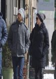 Anne Hathaway - Real Brooklyn Street Style: Winter 2014