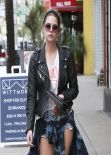Ashley Benson - Real LA Street Style: Winter 2014