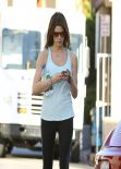 Ashley Greene Gym Style - Studio City, February 2014