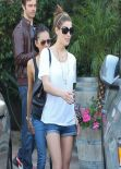 Ashley Greene Street Style - Out in LA - February 2014
