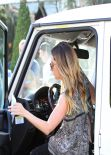 Ashley Tisdale Gets Parking Ticket - Los Angeles, February 2014