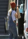 Ashley Tisdale Street Style - Leaving Rite-Aid in Studio City