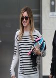 Ashley Tisdale Street Style - Out in West Hollywood - February 2014