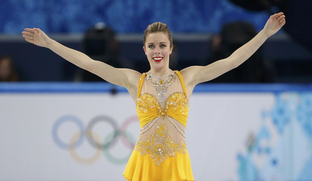 Ashley Wagner - Women's Figure Skating Free Program – 2014 Sochi Winter Olympics