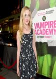 Athryn Newton - VAMPIRE ACADEMY Premiere in Los Angeles, February 2014