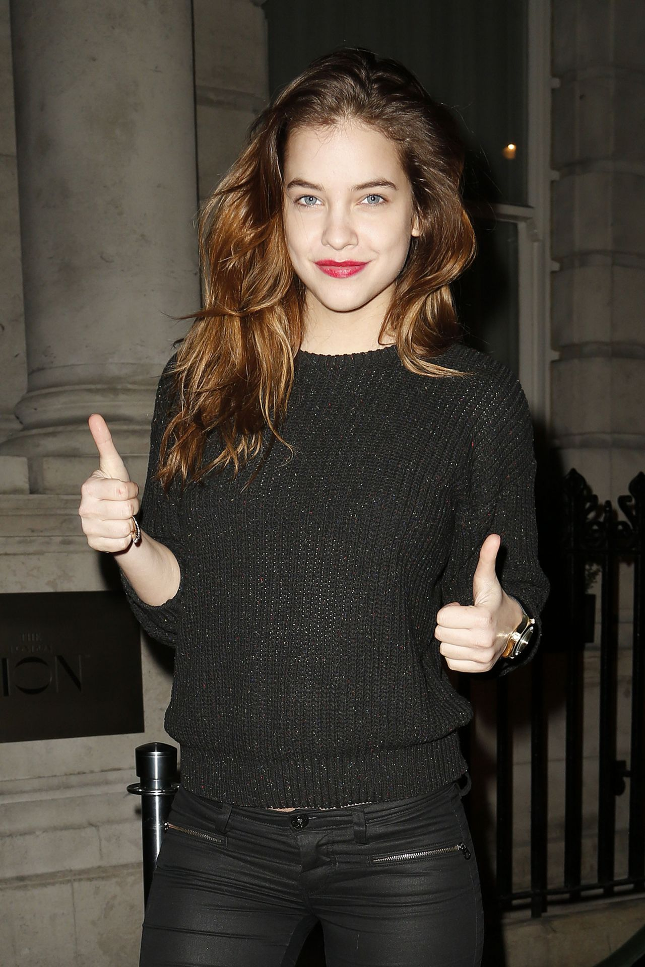Barbara Palvin - Edition Hotel Bar in London - February 2014