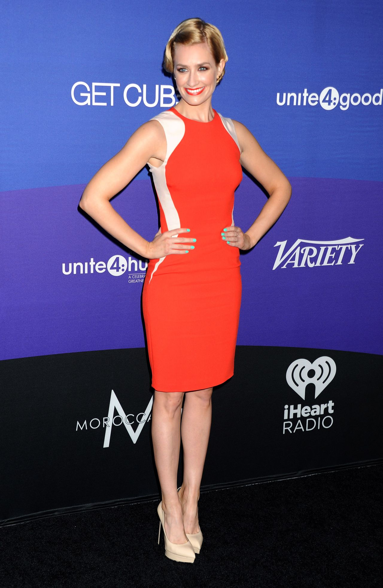 Beth Behrs - Variety's unite4:humanity Gala – February 2014