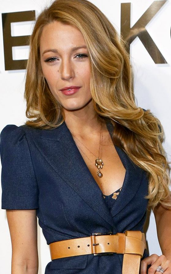Blake Lively - Michael Kors Fashion Show in New York City, February 2014