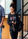 Brenda Song Gym Style - Studio City, February 2014