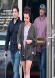 Britney Spears Displays Der Muscular Legs in Shorts - Out for Lunch in Agoura Hills - February 2014