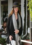 Brooke Shields Street Style - Shops at Fred Segal in West Hollywood, February 2014