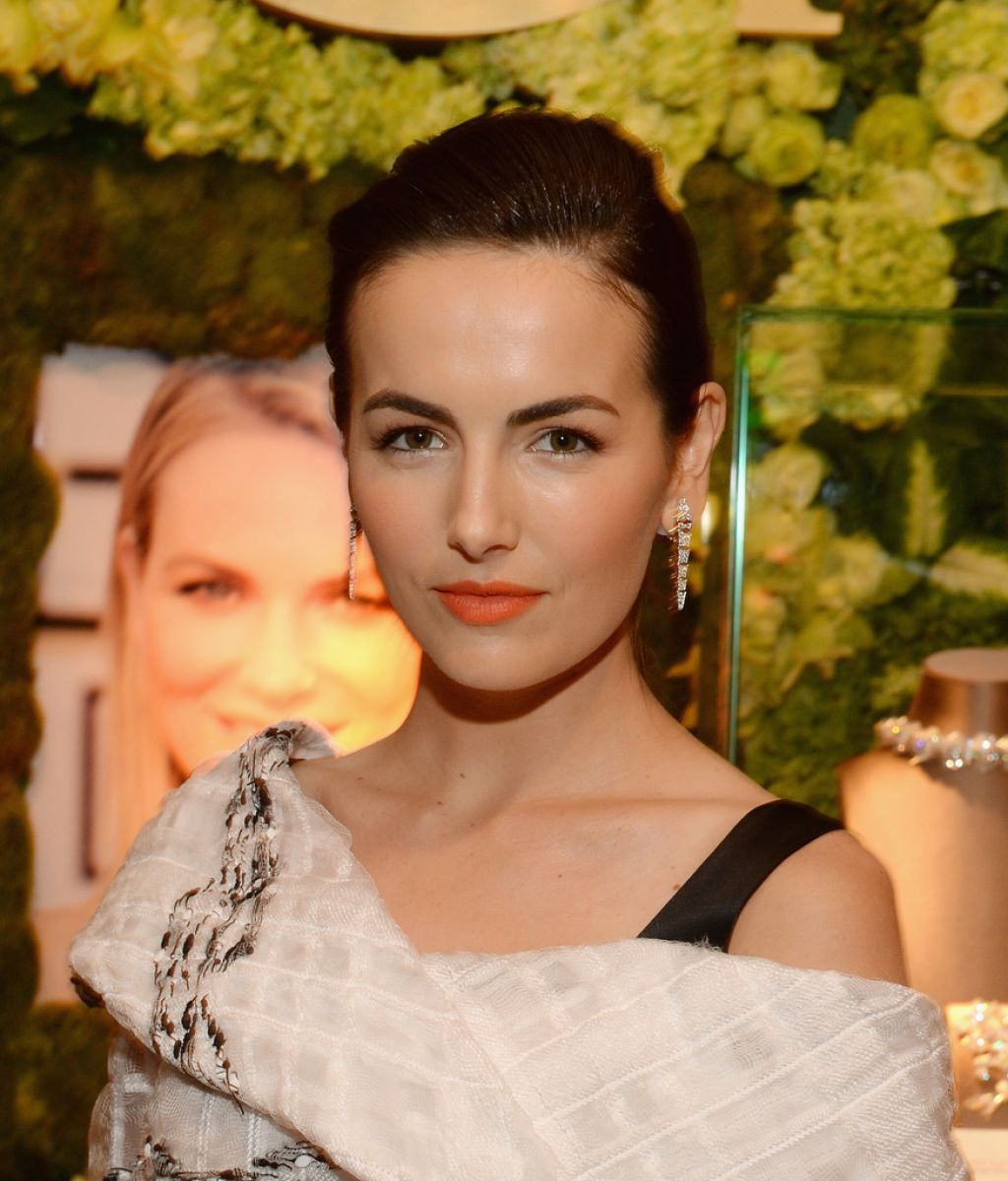 Camilla Belle Wearing Prabal Gurung Dress at