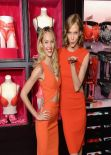 Candice Swanepoel & Karlie Kloss - Celebrating Bombshell Day at Victoria