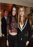 Cara Delevingne and Kendall Jenner - Love Magazine Lunch - London, February 2014