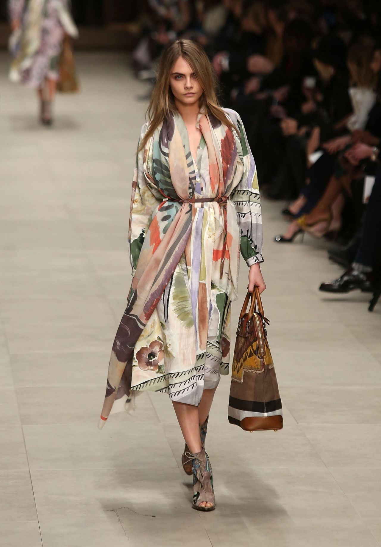 2014 Fall Winter 2015 Fashion Trends For Teens: Burberry Fall/Winter 2014-2015 Show