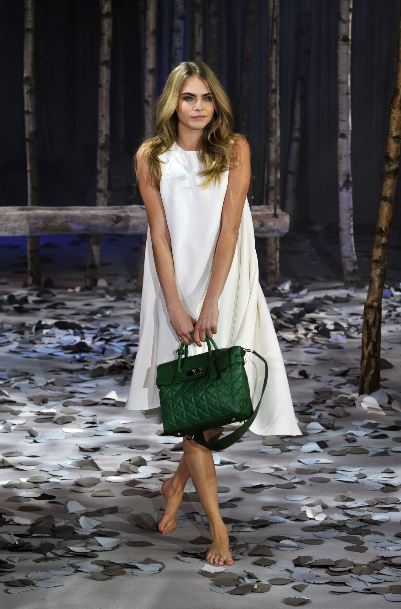 Cara Delevingne - Cara Delevingne Collection by Mulberry - Feb 2014