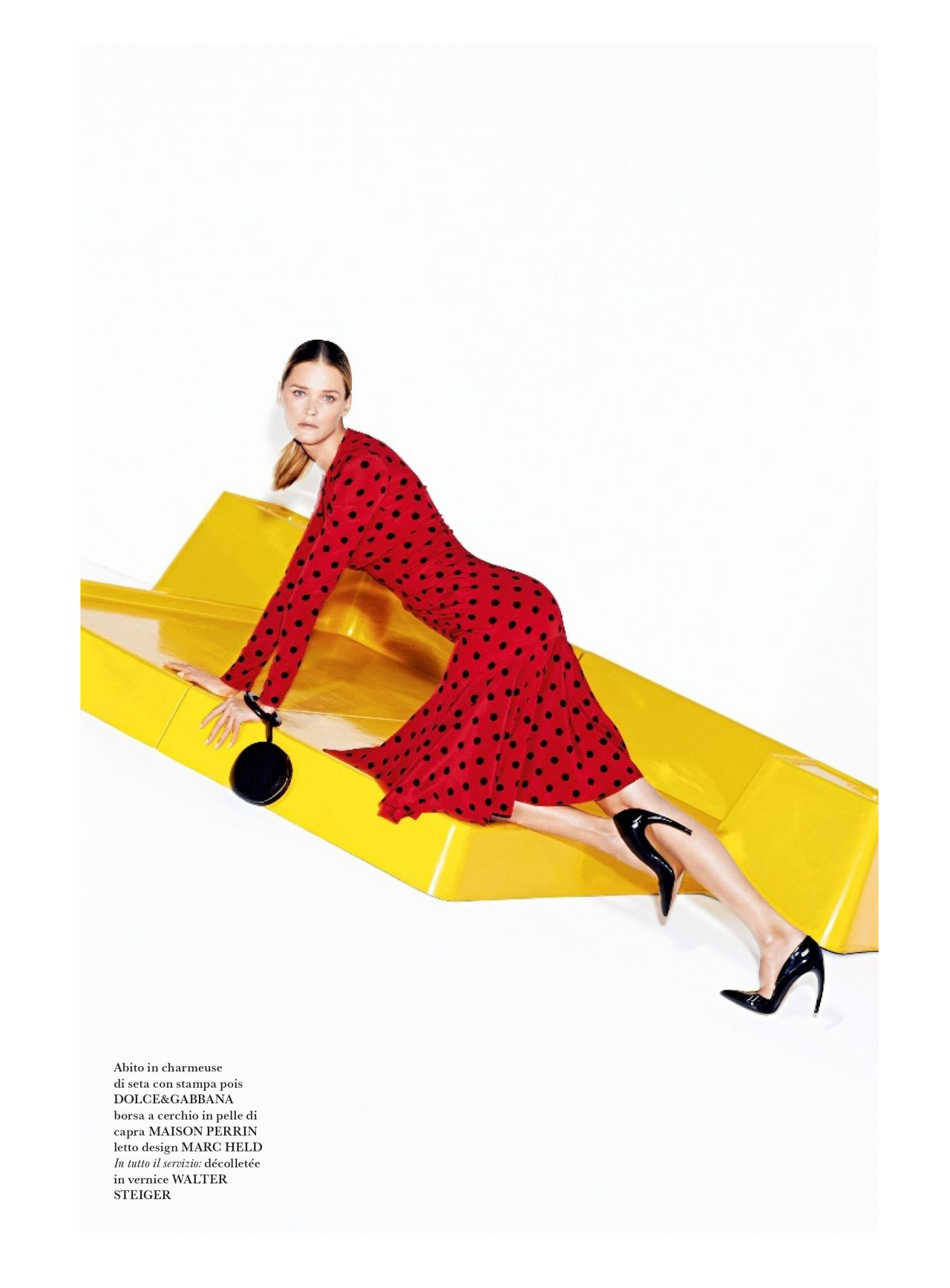 Carmen Kass - Flair #9 Magazine -  March 2014 Issue