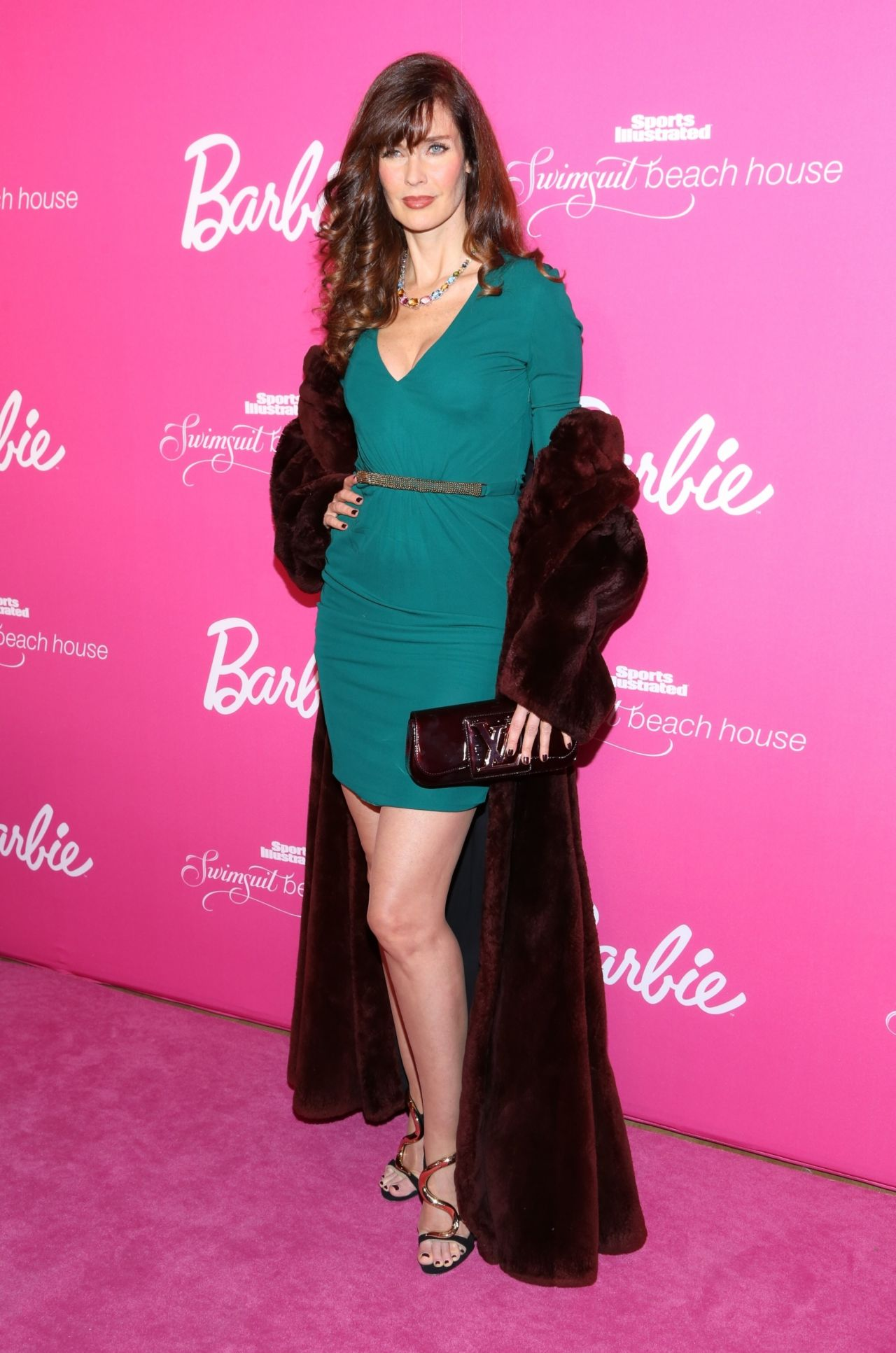 Carol Alt Si Swimsuit 50th Anniversary Party February