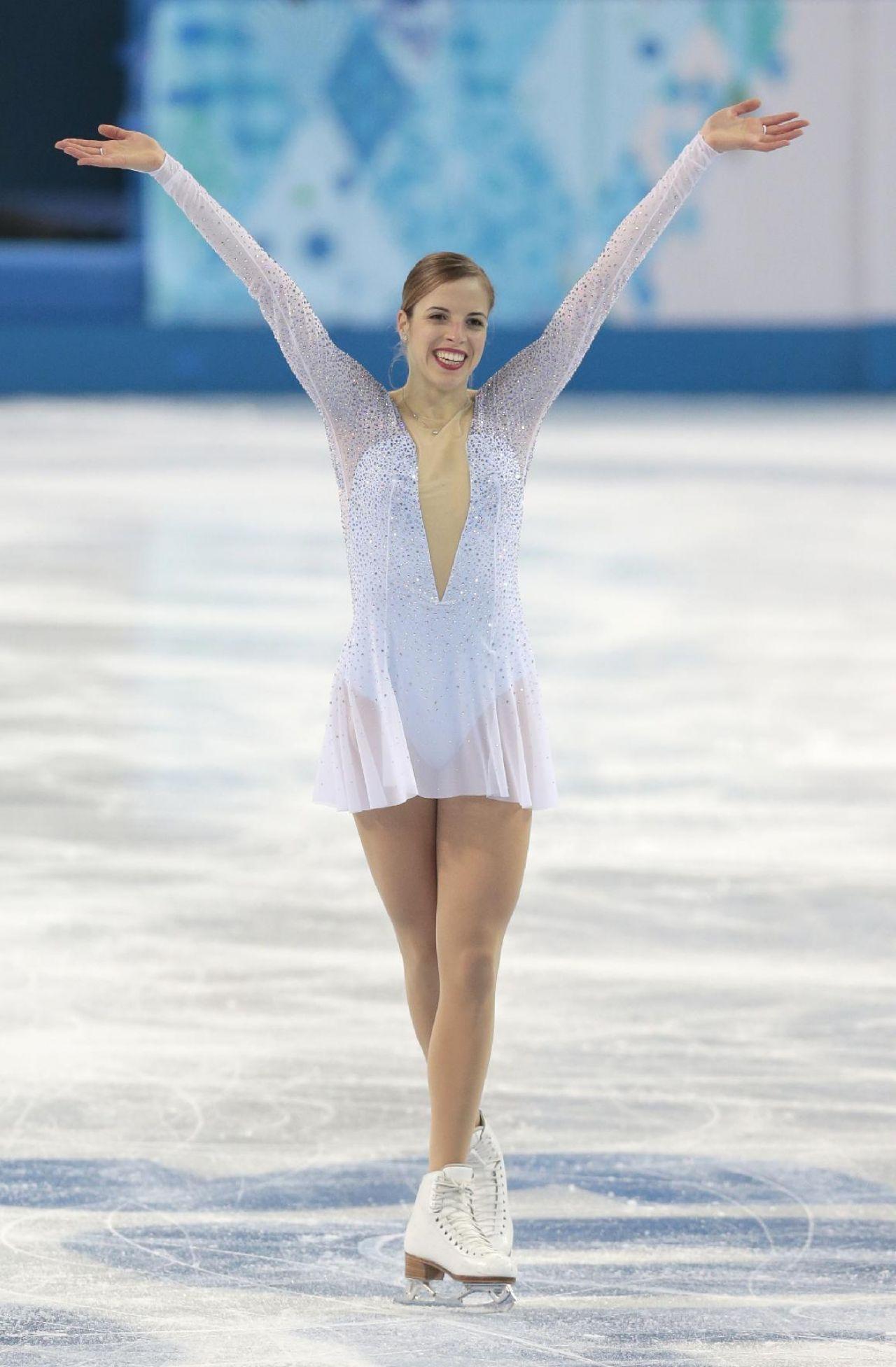Carolina Kostner - Sochi 2014 Winter Olympics