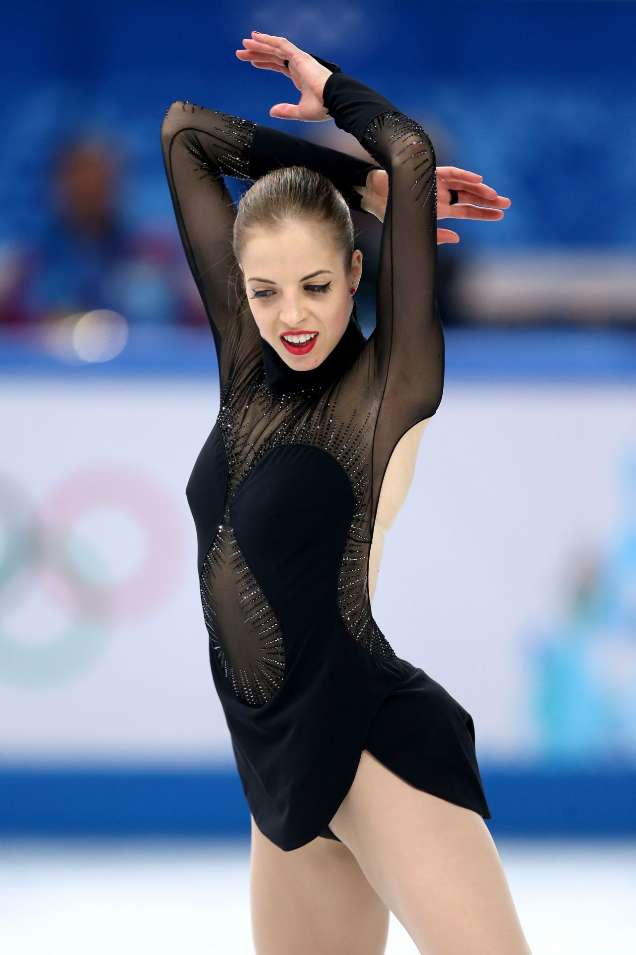 Carolina Kostner - Women's Figure Skating Free Program – 2014 Sochi Winter Olympics