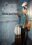 Carrie Keagan - BELLO Magazine - February 2014 Issue