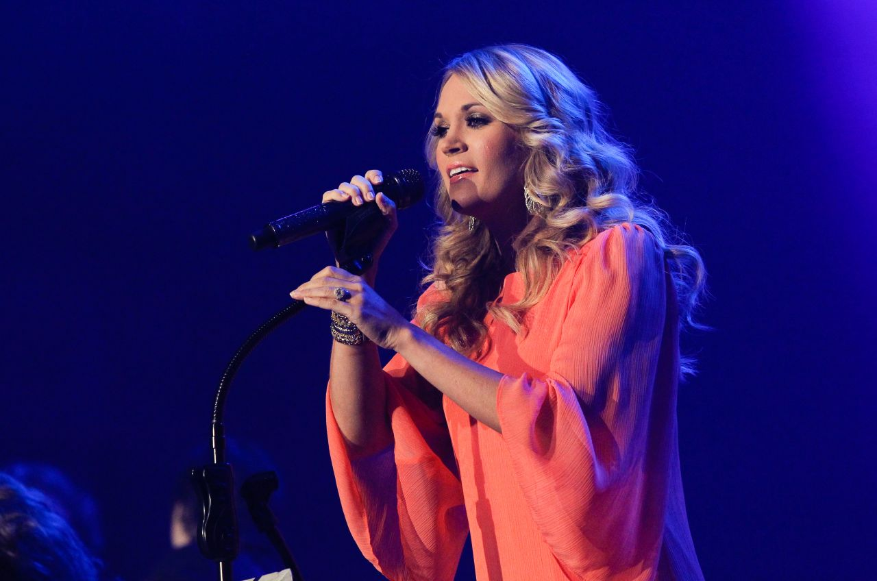 Carrie Underwood - 2014 Country Radio Seminar in Nashville
