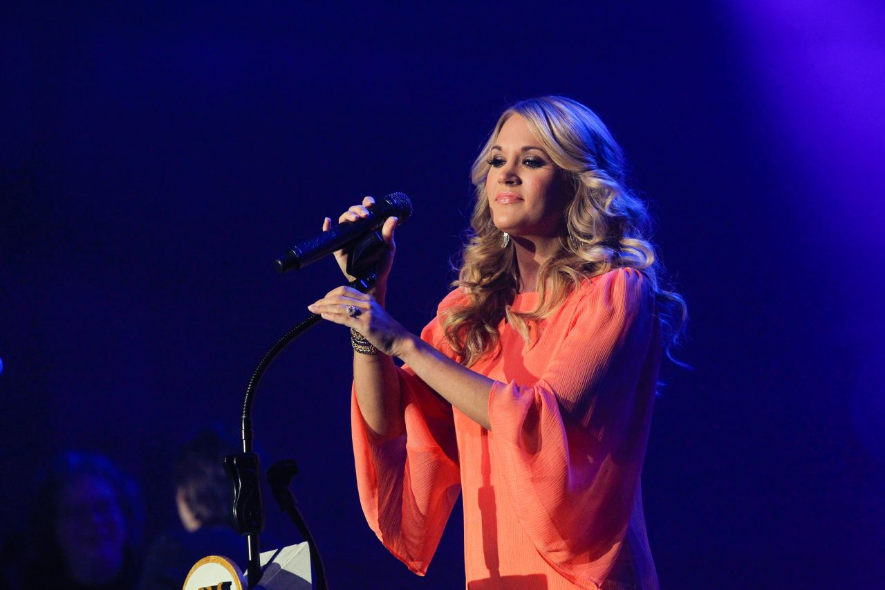 Carrie Underwood 2014 Country Radio Seminar In Nashville