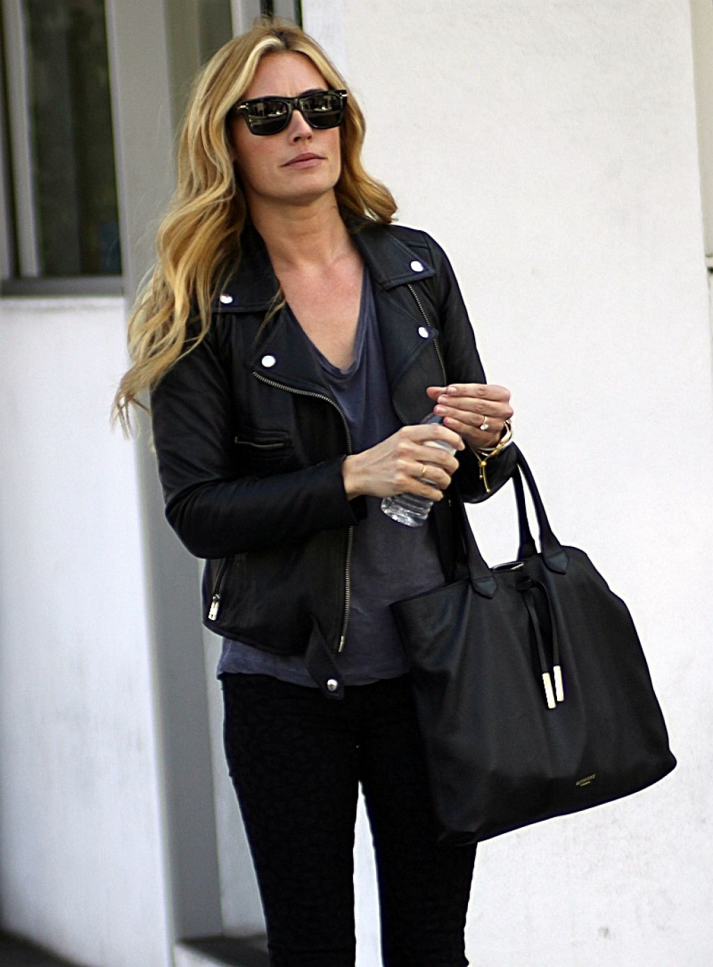 Cat Deeley Street Style - Hoing to Lunch in Beverly Hills - February 2014