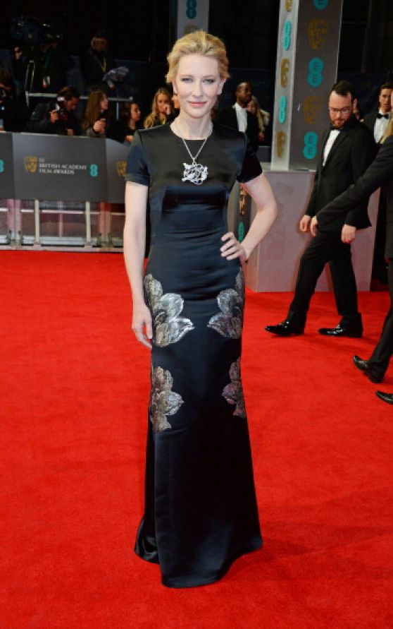 Cate Blanchett - 2014 BAFTA Awards in London
