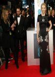 Cate Blanchett Wearing Alexander McQueen - 2014 BAFTA Awards