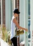 Charlize Theron at Yoga Class in Hollywood - February 2014