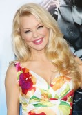 Charlotte Ross in a Floral Dress