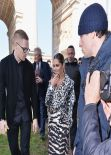 Cheryl Cole - Roberto Cavalli Fashion Show in Milan, February 2014