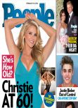 Christie Brinkley - PEOPLE Magazine - February 2014 Cover