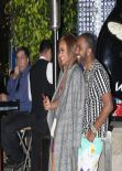Christina Milian Night Out Style - Outside BOA Steakhouse in West Hollywood