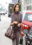 Cindy Crawford Street Style - Out in Beverly Hills, February 2014