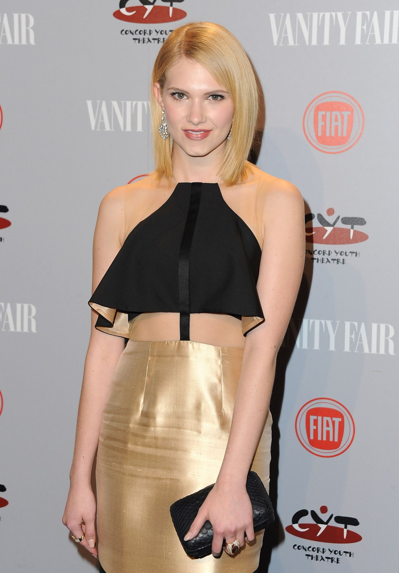 Claudia Lee - Vanity Fair & FIAT Young Hollywood Event in LA, February 2014