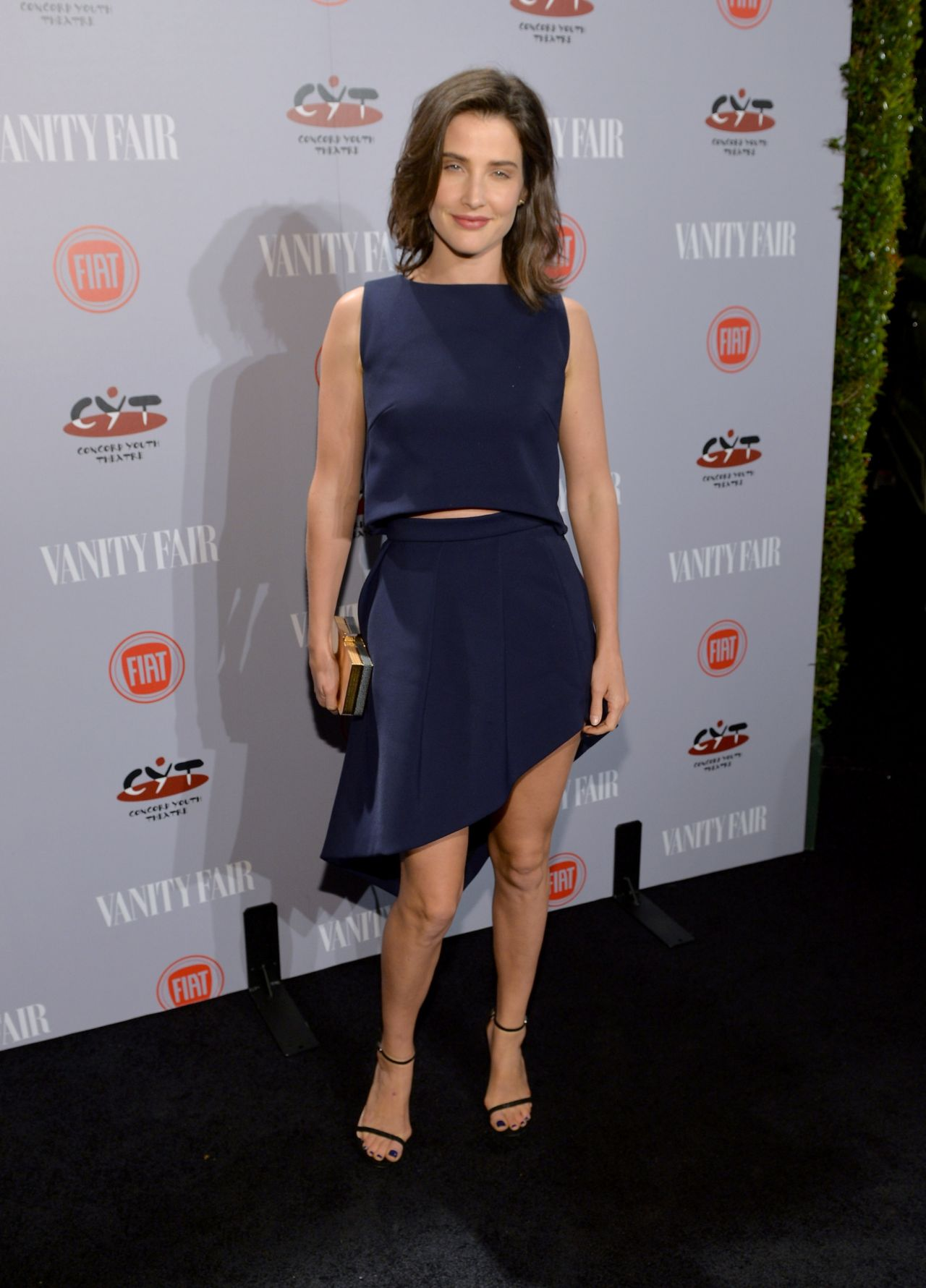 Cobie Smulders – Vanity Fair & FIAT Young Hollywood Event in LA, February 2014