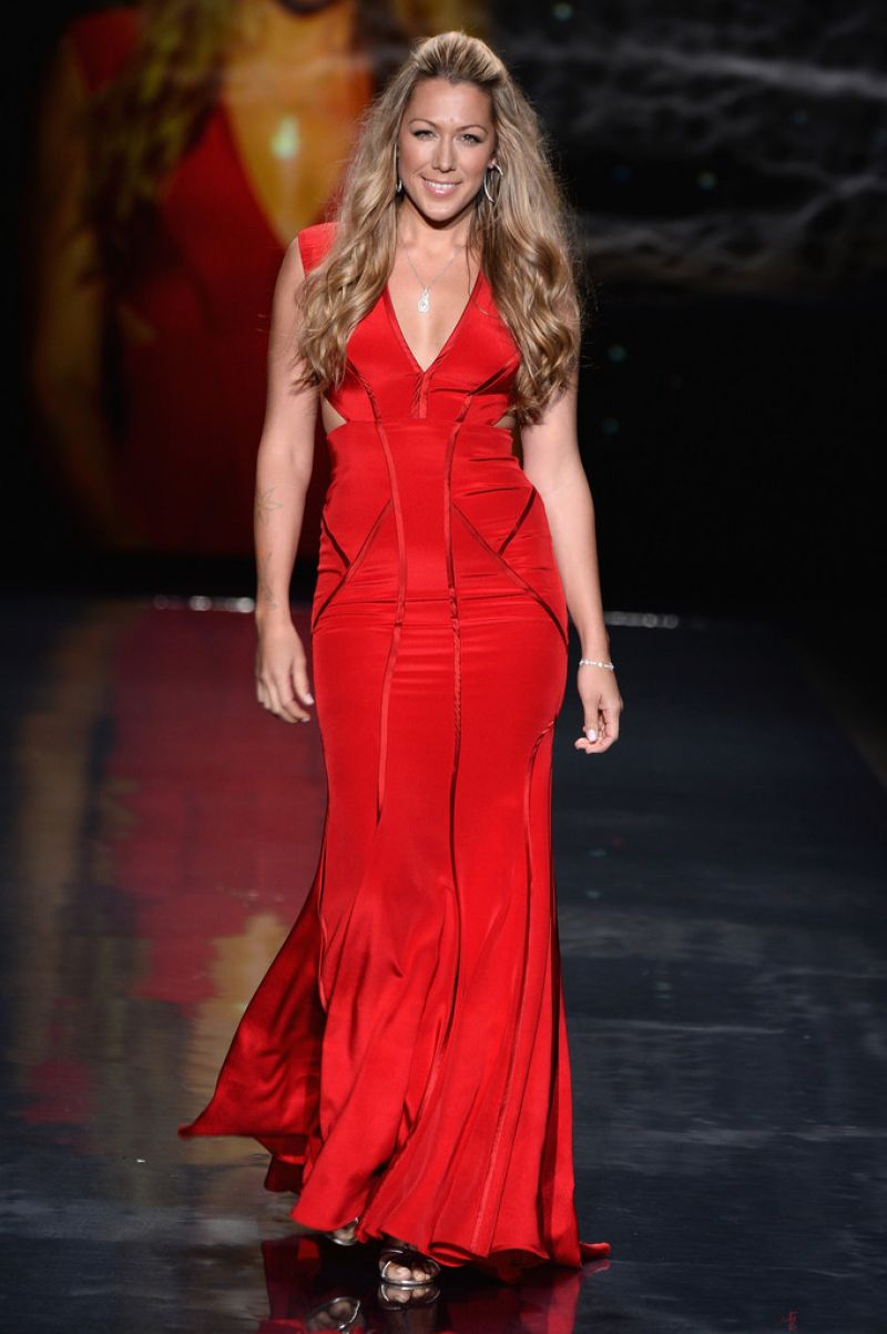 Colbie Caillat - Go Red For Women The Heart Truth Red Dress Collection 2014 Event
