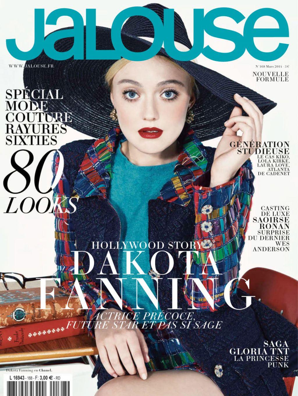 Dakota Fanning - Jalouse Magazine - March 2014 Issue