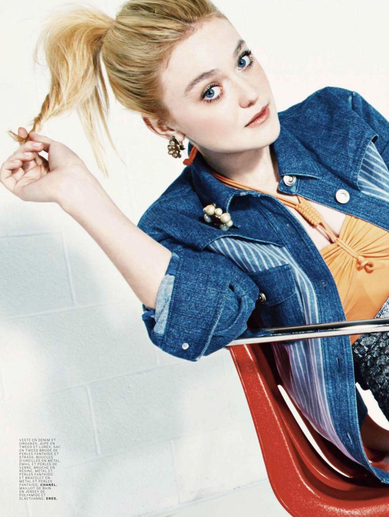 Dakota Fanning – Jalouse Magazine – March 2014 Issue Dakota Fanning
