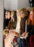 Dakota Fanning - Rodarte Fashion Show in New York, Feb. 2014