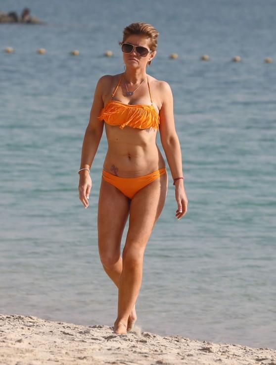 Daniella Westbrook Bikini Candids