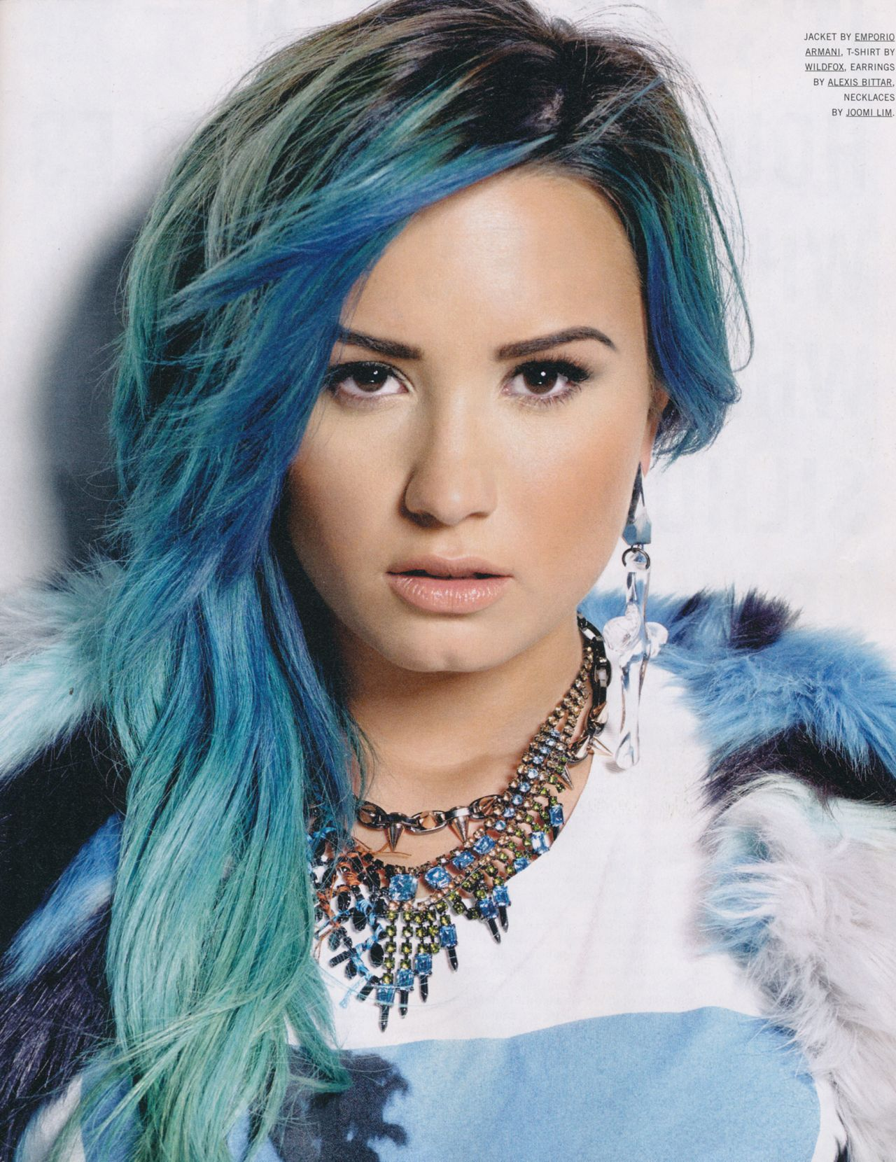 Demi Lovato - Nylon Magazine - January 2014 Issue