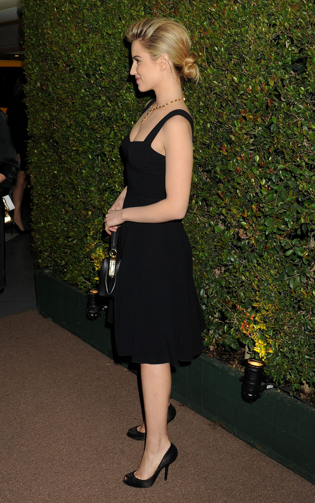 Dianna Agron Decades Of Glamour Event In West Hollywood