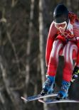 Dominique Gisin, Lara Gut and Nicole Hosp - Sochi 2014 Downhill Photos