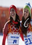 Dominique Gisin Wallpapers - Downhill Sochi 2014 Co-Goldmedal Winner